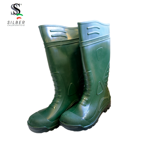 Silber - Safety PVC Boot
