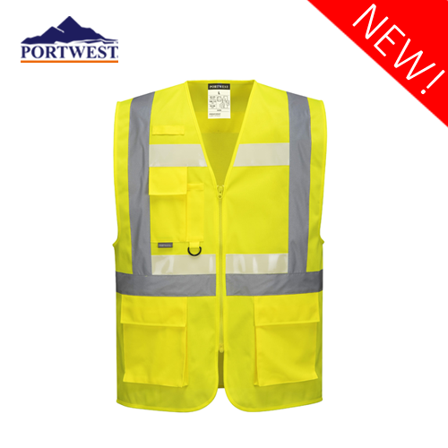 Glowtex Ezee Zip Executive Vest G456