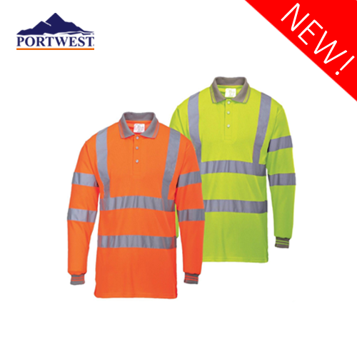 Hi-Vis Long Sleeved Polo S277