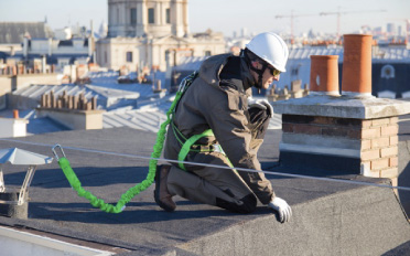 Don't risk a fall use fall protection