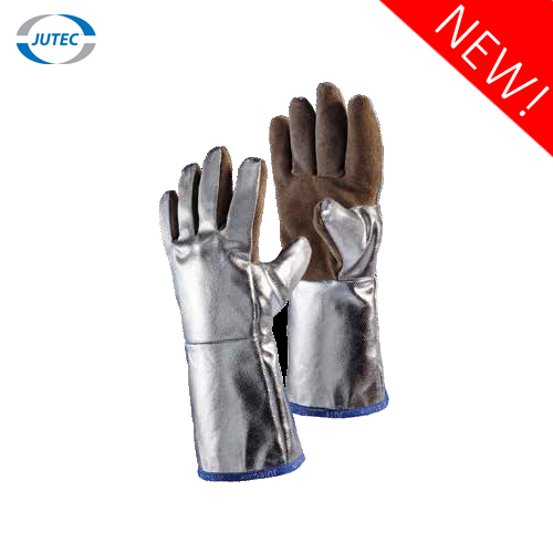 Glove made of SEBATAN® leather | aluminized